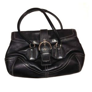 Coach Smooth Leather Hand Bag